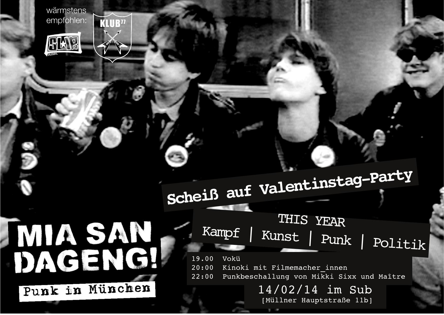 Valentinstag-Party